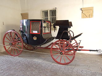 Coupé - Example of a coupé carriage