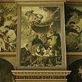 Oranjezaal vóór de restauratie- schilderij boven zijingang westzijde - 's-Gravenhage - 20418275 - RCE.jpg