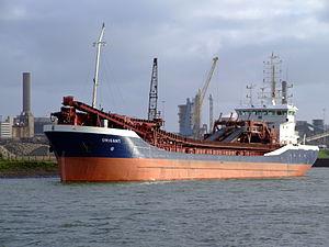 Orisant at IJmuiden, Port of Amsterdam, Holland.JPG