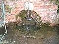 Ornamental fountain at Packwood House - geograph.org.uk - 155256.jpg