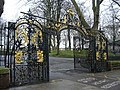 Ornamental gates to Old St Pancras Churchyard - geograph.org.uk - 1713302.jpg