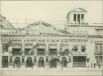 Winter Garden Theatre - The Winter Garden Theatre, 1913