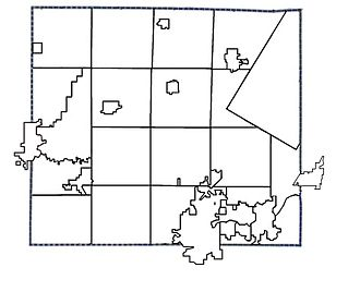 Outagamie County, Wisconsin - Municipality Boundaries in Outagamie County, Wisconsin