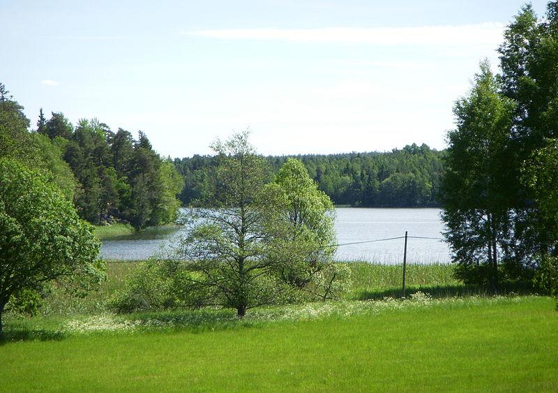 Oxundasjöns norra spets
