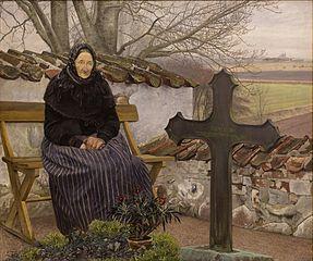 Churchyard at Fløng