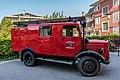 Pörtschach Karlstraße Freiwillige Feuerwehr museales Löschfahrzeug LF 8 26082017 0551.jpg