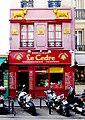 P1010800 Paris V Rue Mouffetard immeuble MH n°6 reductwk.JPG