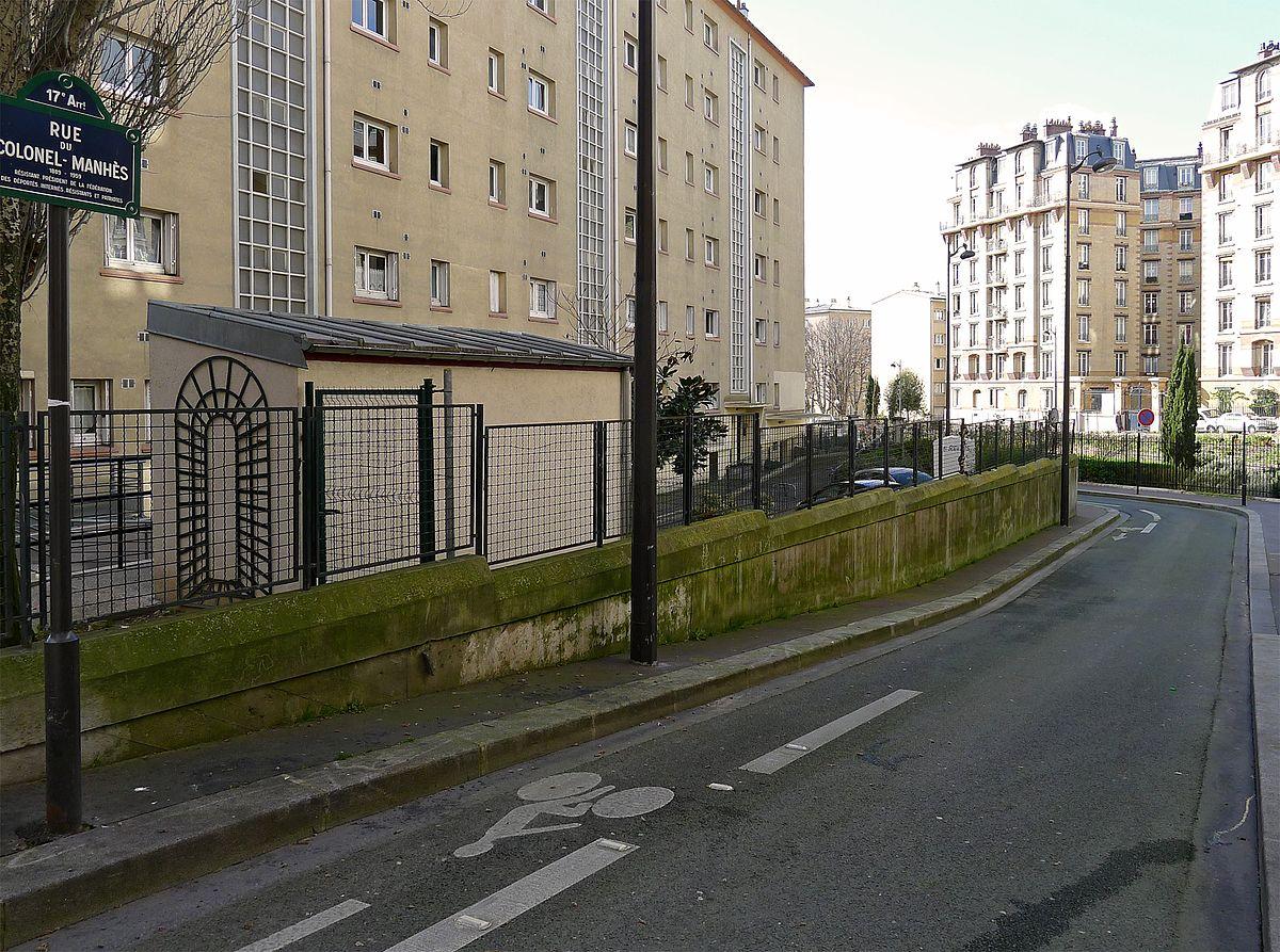rue du colonel manh s wikidata. Black Bedroom Furniture Sets. Home Design Ideas