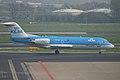 PH-KZI Fokker Fk.70 KLM Cityhopper (8609781827).jpg