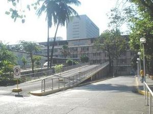 Ospital ng Maynila Medical Center - The driveway to the Emergency Department of the hospital