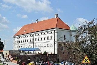 Sandomierz Castle - Image: PL Sandomierz zamek 2012 08 18 11 06 15 01