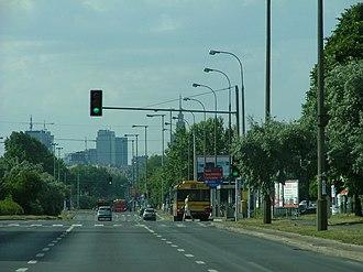 Stegny - Image: POL Sobieskiego Street in Warsaw