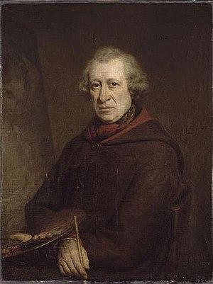 François Souchon - Portrait of Souchon in 1851 by his pupil Alphonse Colas