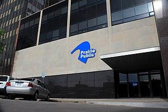 Prairie Public Television - Prairie Public television studio in Fargo, North Dakota