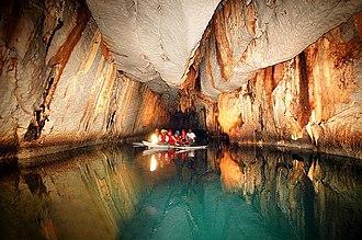 Puerto Princesa - Interior of the Puerto Princesa Underground River