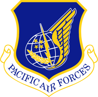 Pacific Air Forces - Shield of Pacific Air Forces