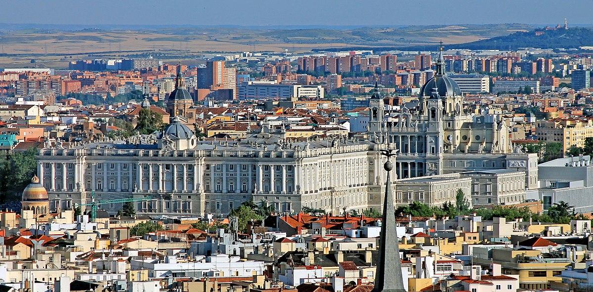 Palacio Madrid Wikipedia La Enciclopedia Libre