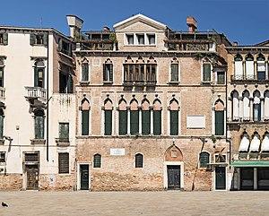 Campo Santa Maria Formosa - Image: Palazzi Donà Palazzo centrale