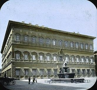 Architecture of Rome - The Palazzo Farnese.