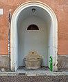 Palazzo Martinengo Cesaresco dell'Aquilone fountain Universitá Cattolica Brescia.jpg