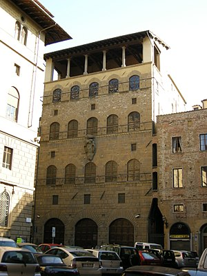 Palazzo Davanzati - Façade of the palace.