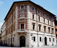 Il Palazzo del Monte dei Paschi a Grosseto