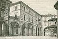 Palazzo municipale col battistero in Biella xilografia di Barberis.jpg