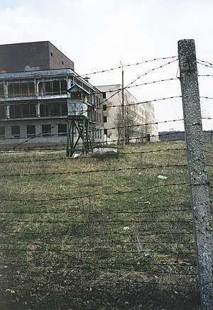 Paldiski - Abandoned military buildings in Paldiski (1999).