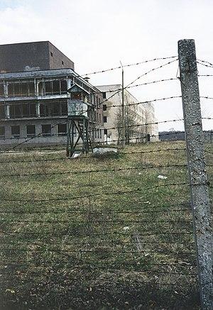 Paldiski - Abandoned military buildings in Paldiski (1999).