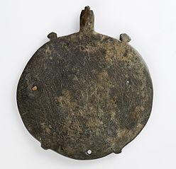 Palette à fard en forme de tortue Trionyx du Nil