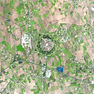 Palmanova - Satellite image of Palmanova