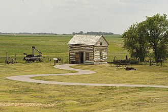 Homestead National Monument of America - Palmer-Epard Cabin