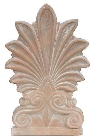 Palmette - An antefix in the form of a palmette