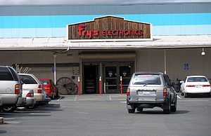 Fry's Electronics - Fry's Electronics oldest operating store in Palo Alto, California.