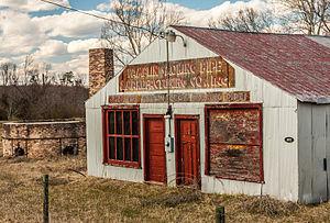Pamplin City, Virginia - The Pamplin Pipe Factory, a federally designated historic site