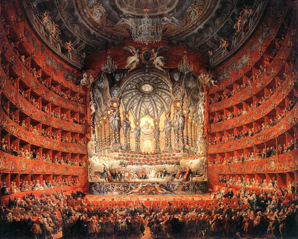 Pannini, Giovanni Paolo - Musical F%C3%AAte - 1747