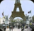 Paris Exposition- Pont d'Jena toward Chateau of Water, view from the, Paris, France, 1900 -correction- Pont d'Iena-.jpg