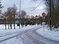 Park Podviní, ulice Podvinný mlýn.jpg