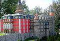 Park miniatur w Kowarach, makieta zamku Książ (Aw58)MW.JPG
