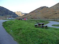 Parking and picnic area at Rest And Be Thankful - geograph.org.uk - 1657648.jpg