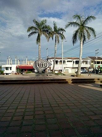 Sampués - Image: Parque principal de municipio de Sampués Sucre Sabanas