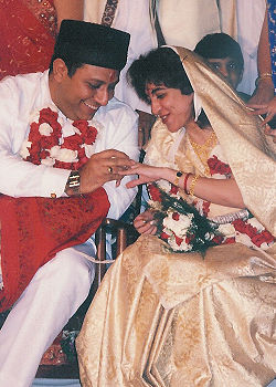 Parsi Wedding (exchange of rings)