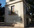Part inferior d'una de les torres dels guardes de l'Albereda, València.JPG