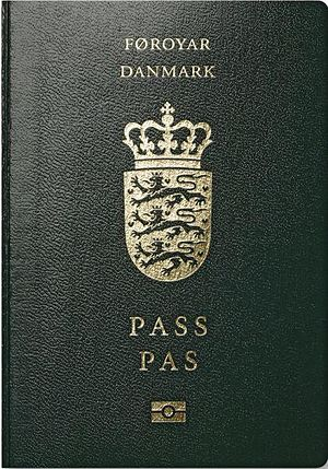 Danish passport - Image: Passeport Îles Féroé