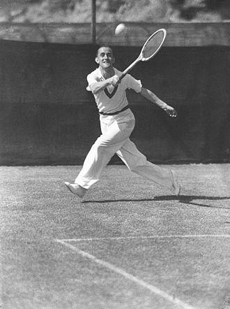 Pat Hughes (tennis) - Image: Pat Hughes 1934