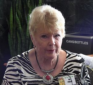 Pat Priest (actress) - Pat Priest in 2013, interviewed by Count Gore De Vol