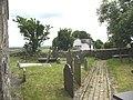 Path leading to Llechcynfarwy Church - geograph.org.uk - 994282.jpg