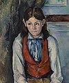 Paul Cézanne - Boy in a Red Vest (Le Garçon au gilet rouge) - BF20 - Barnes Foundation.jpg