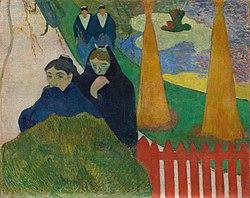 Paul Gauguin: Arlésiennes (Mistral)