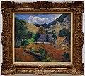 Paul gauguin, paesaggio con tre figure, 1901.jpg
